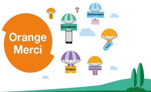 Orange Maroc vient de lancer un nouveau programme de fidélisation destiné à  tous ses clients, baptisé Orange Merci. 1e030eb5b48