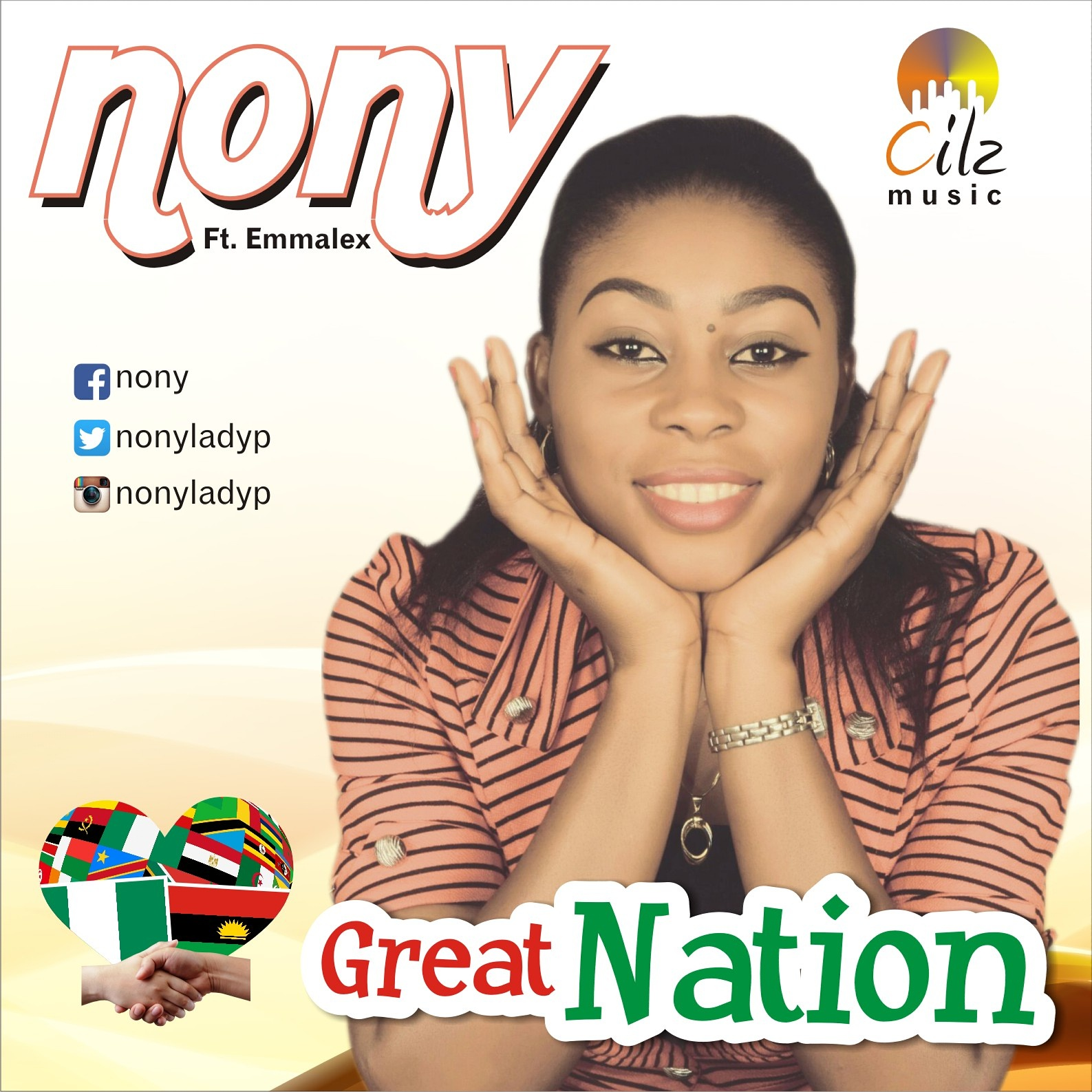 MUSIC: Download GREAT NATION by Nony ft Emmalex | Promotaer