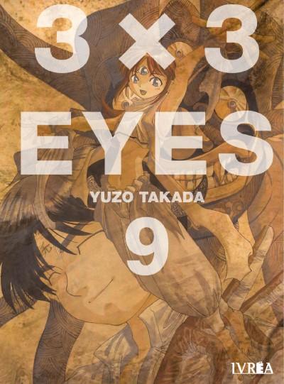 seña de 3×3 EYES (3x3 Ojos) vol. 9 de Yuzo Takada