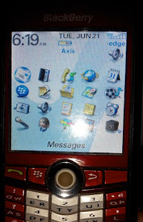 cara mengatasi masalah blackberry