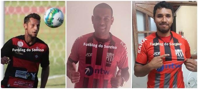 Um pacotão: zagueiro, meia e atacante ex-Paulista de Jundiaí chegam para reforçar o Santa Tereza