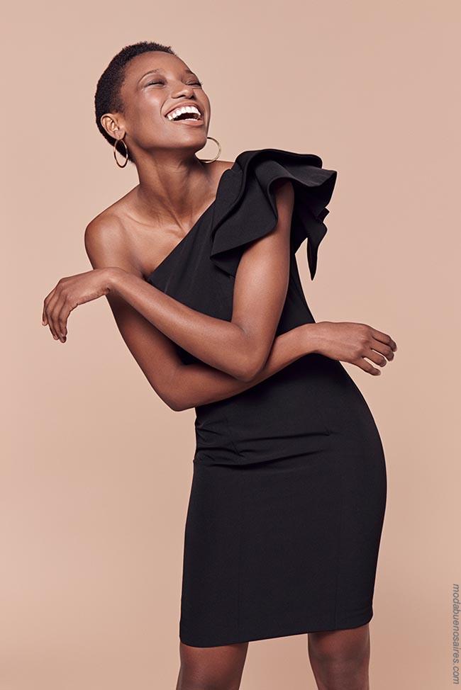 Moda 2019 vestidos. Vestidos de moda 2019.
