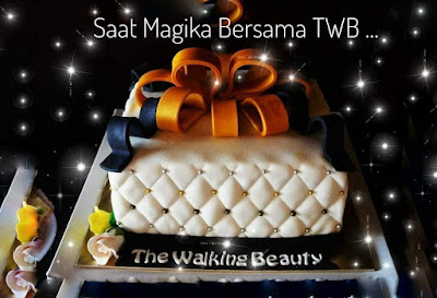The walking beauty, twb, spa bergerak, magika