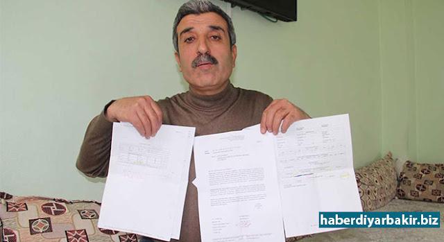 DİYARBAKIR-Emekli olmak için gerekli prim sayısını doldurduğunu söyleyen Diyarbakır'ın Ergani ilçesinde esnaflık yapan Atilla Ergün, paravan şirket tarafından yapılan sahte sigorta nedeniyle aile olarak 3 yıl içerisinde gördükleri sağlık hizmeti ücretlerinin faiziyle birlikte kendisinden istenmesine tepki gösterdi. Bir başka mağdur esnaf Bülent Yıldız ise SGK'nın EK-5 Tarım Sigorta prim ücretinin yükseltilmesinden dolayı mağdur olduğunu belirtti.
