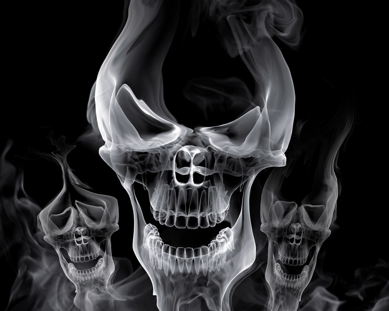 Skulls wallpapers abhi wallpapers - Skeleton wallpaper ...