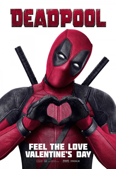 Cartel promocional de Deadpool