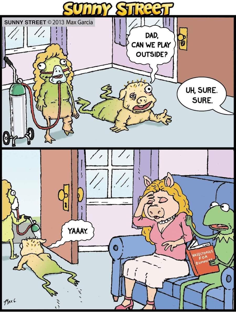 real kids Kermit Piggy