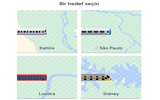 Google Haritalar yaya, araba, tren ve bisikletle nasıl dolaşabileceğinizi gösterir ve şimdi hedefinize de gidebilirsiniz.
