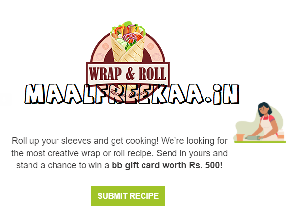 Wraps & Rolls Recipe Contest Win Exciting Prizes