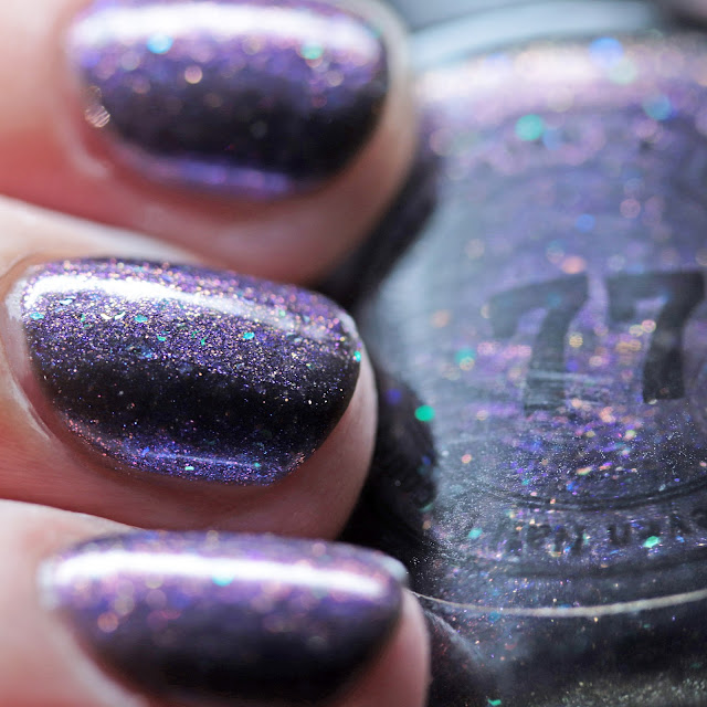 Seventy-Seven Nail Lacquer Halloween 2020  Seventy-Seven Nail Lacquer Handle with Scare