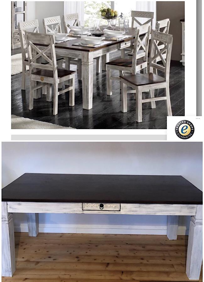 Massiv Möbel Tisch Echtholz