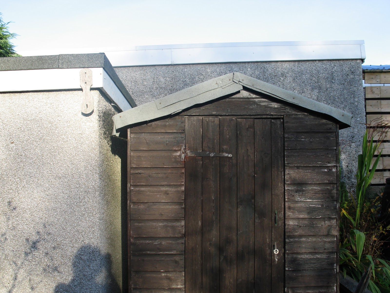 Ink Spots And Grass Stains Roofing My Shed