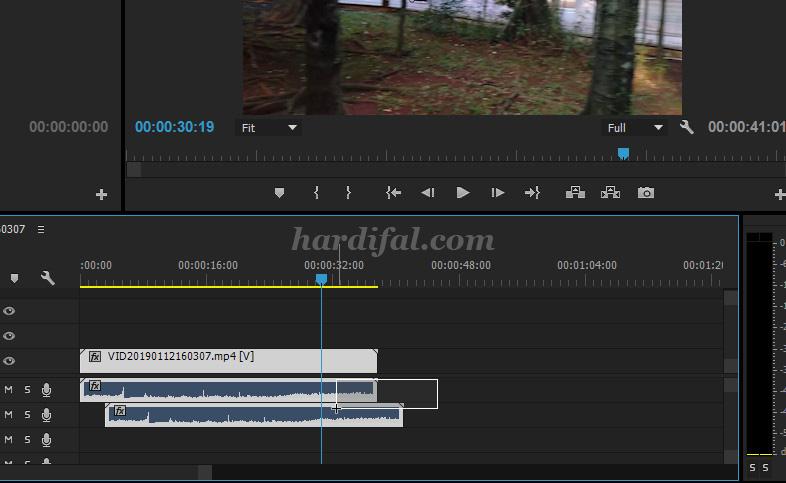 Cara Sinkron Audio dan Video di Adobe Premiere