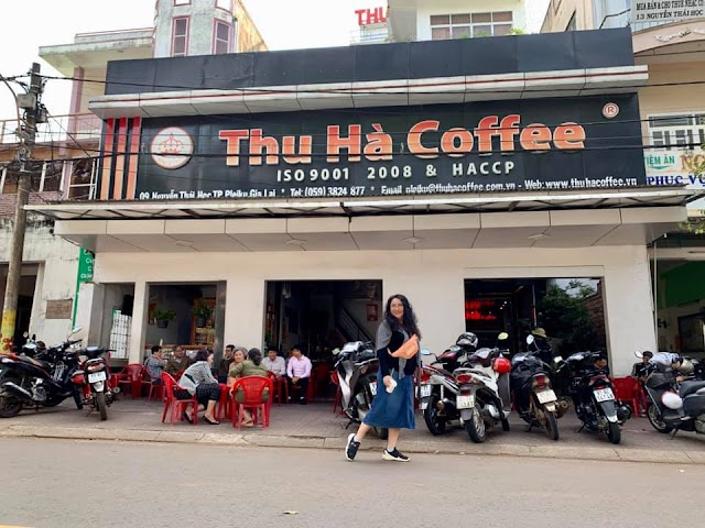 Gia Lai, uống cà phê đạt chuẩn ISO 9001