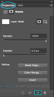 fungsi panel properties photoshop