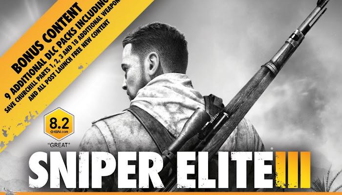 Sniper Elite 3 + DLC [PS4] [PKG] [Zippyshare]