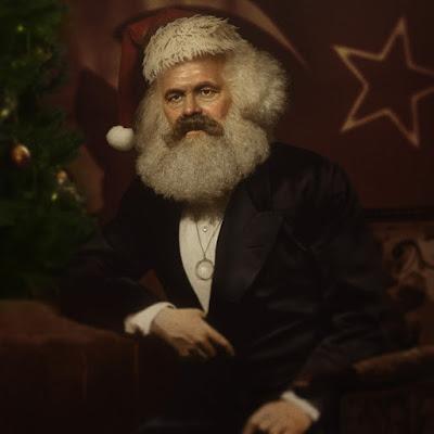 Lustiges Bild - Karl Marx als Weihnachtsmann