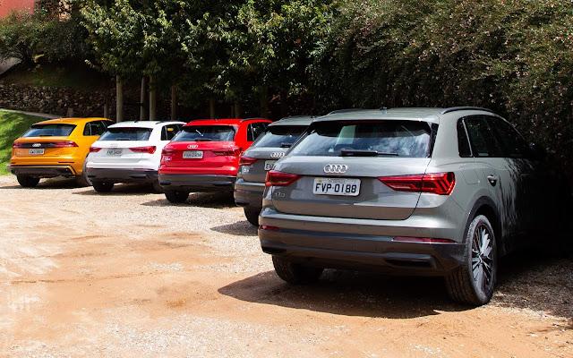 Novo Audi Q3 2020 (Brasil) - traseira