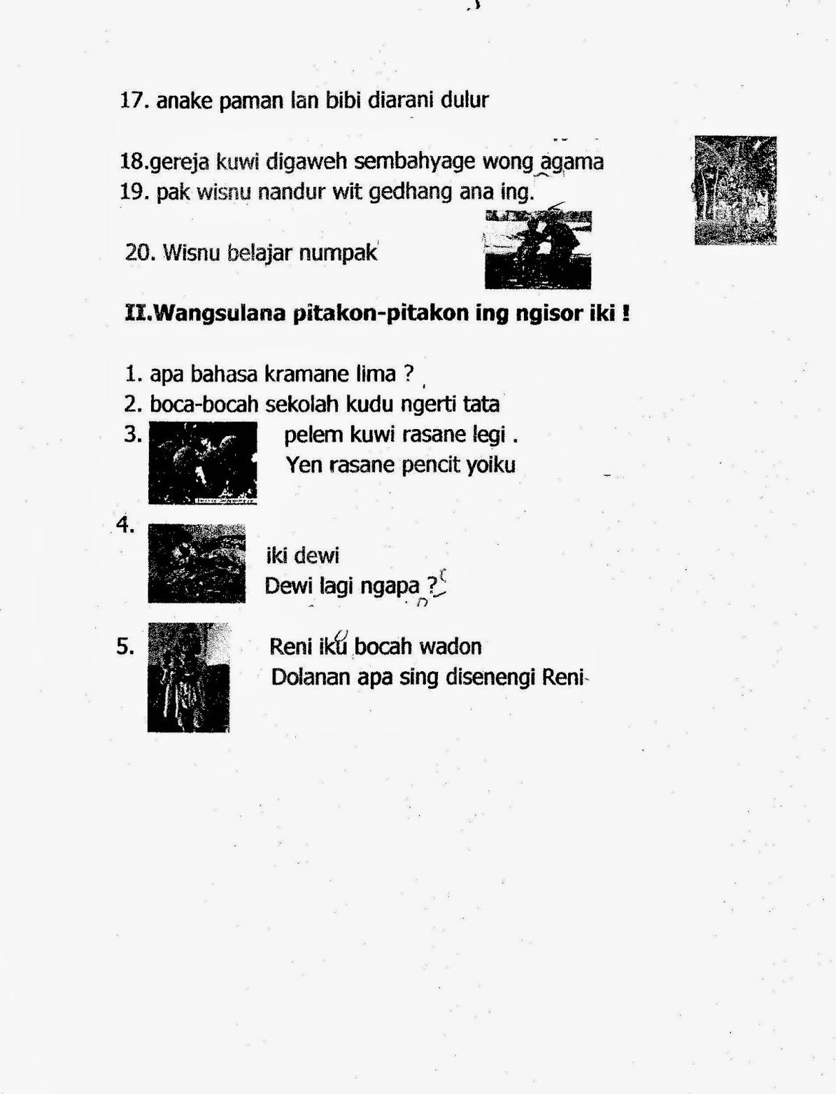 Inspiration Soal Ukk Bahasa Sunda Kelas 10 Dan Kunci ...