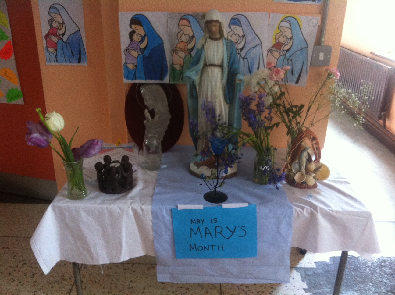 May – the month of Mary