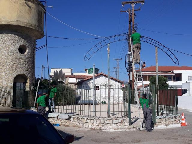 Μαρία Ράλλη: Ανακαίνιση και καλλωπισμός της δεξαμενής στη Νέα Τίρυνθα