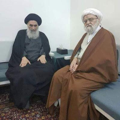 السيد السيستاني في تعزية آية الله 'الشريعتمداري': فقده خسارة كبيرة