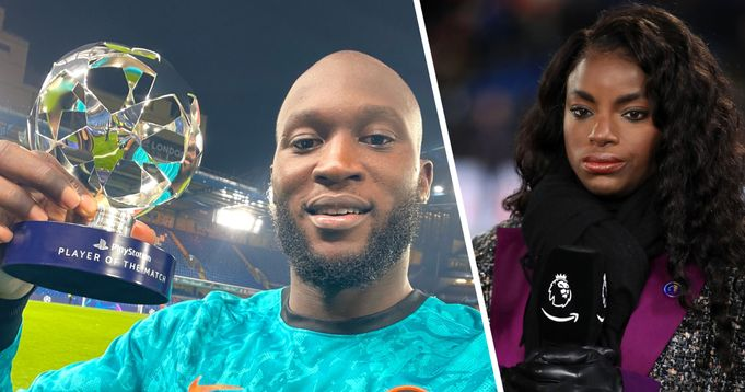 'His lay-off play wasn't great': BT Sport reporter Eni Aluko reacts to Lukaku performance vs Zenit