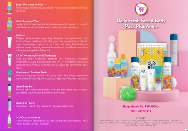 Promo Nu Skin Daily Fresh Package September 2020