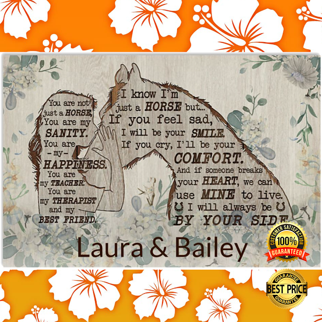[Discount] PERSONALIZED YOU ARE NOT JUST A HORSE POSTER