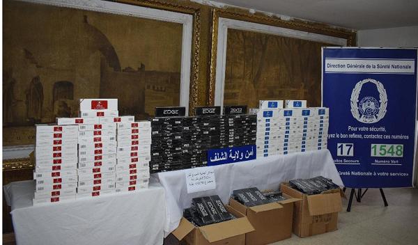 توقيف مهرب سجائر و ضبط أزيد من 15 ألف علبة ذات صنع أجنبي بالشلف