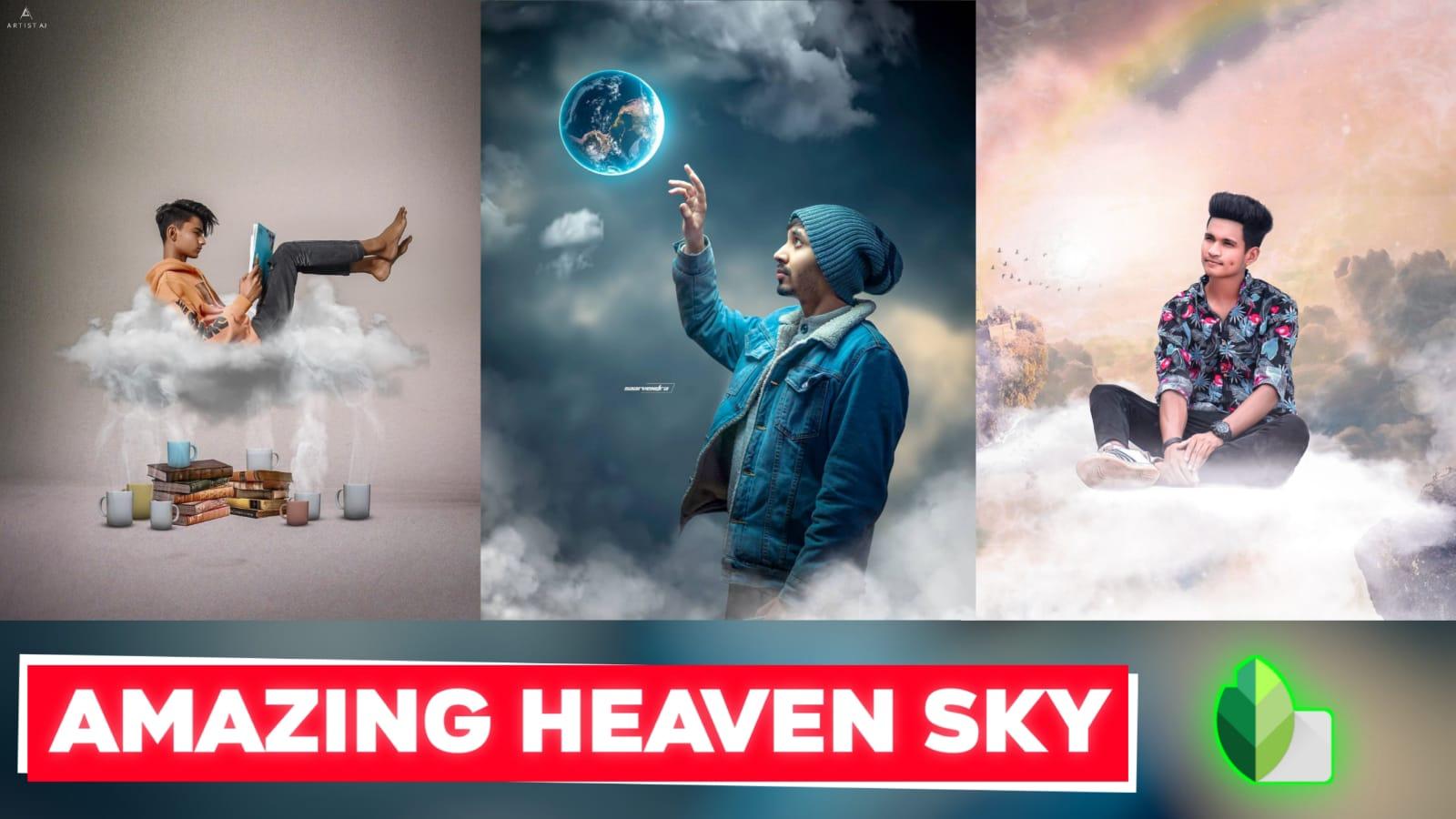 Snapseed Heaven Sky