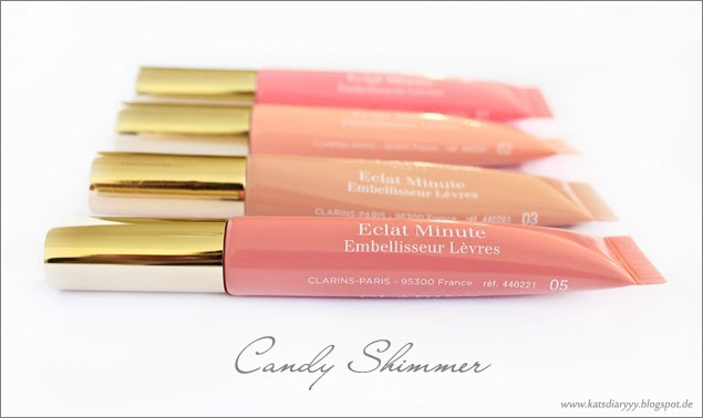 kats diary clarins lip perfector candy shimmer. Black Bedroom Furniture Sets. Home Design Ideas