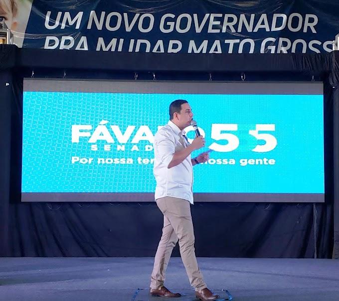 Rumo ao senado Carlos Fávaro convida Alex Rabelo a se filiar no PSD