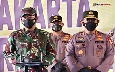 Panglima – Kapolri Kunjungan Kerja ke Papua, Beri Arahan Kepada Anggota TNI-Polri yang Bertugas