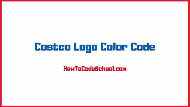 Costco Logo Color Code