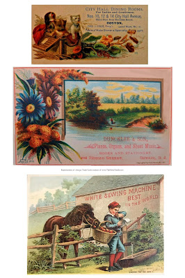 free printable autumn victorian trade cards