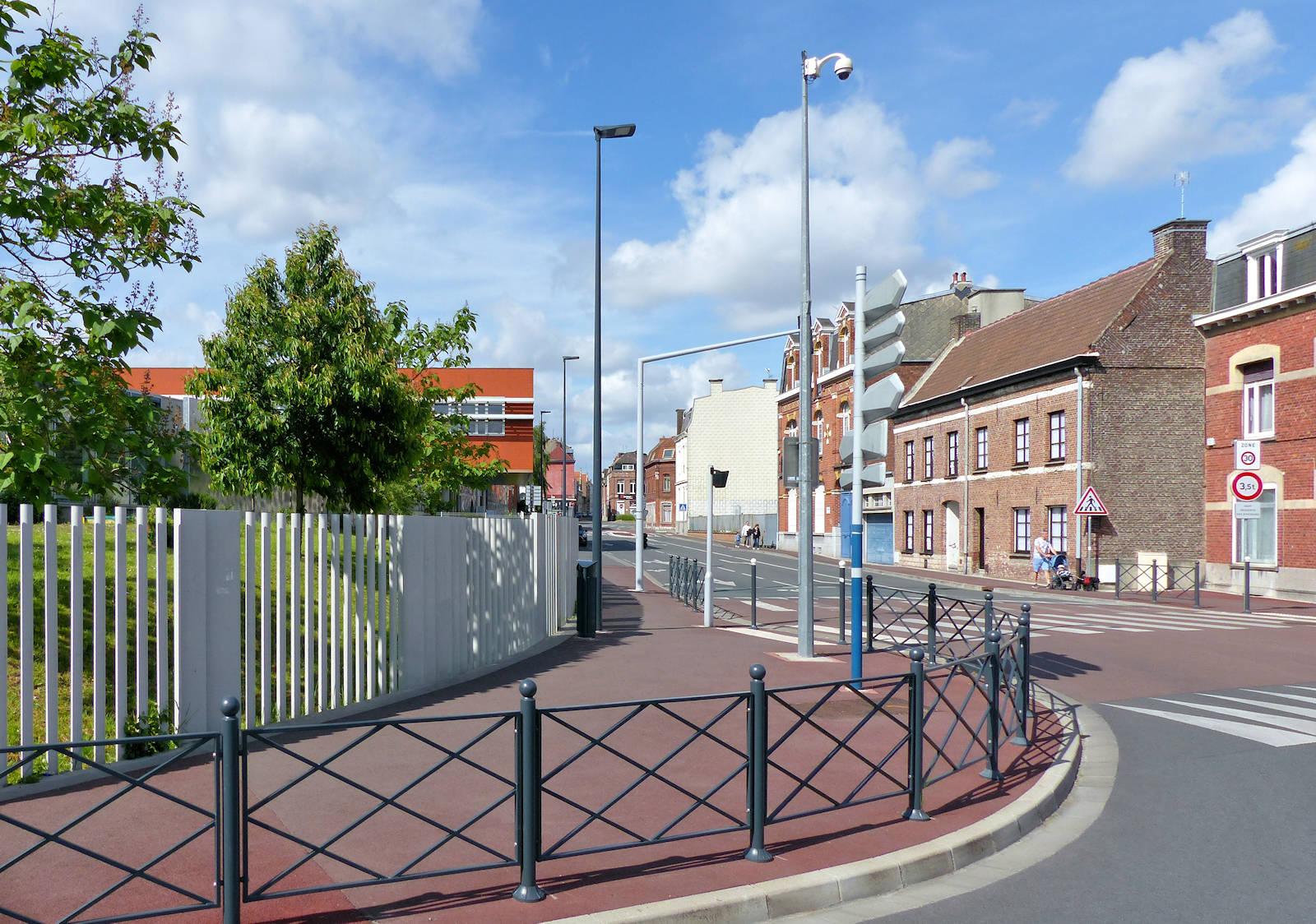 Rue des Ursulines, Tourcoing - Caméra de Vidéosurveillance