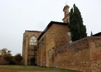 Abadía de San Salvador. Cañas. La Rioja Alta