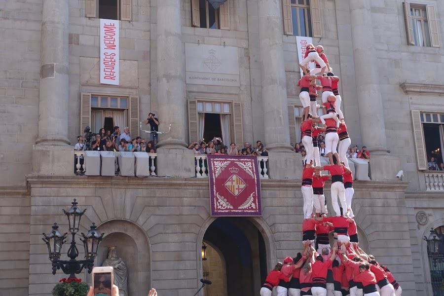 メルセ祭 人間の塔(Diada castellera de les colles locals)