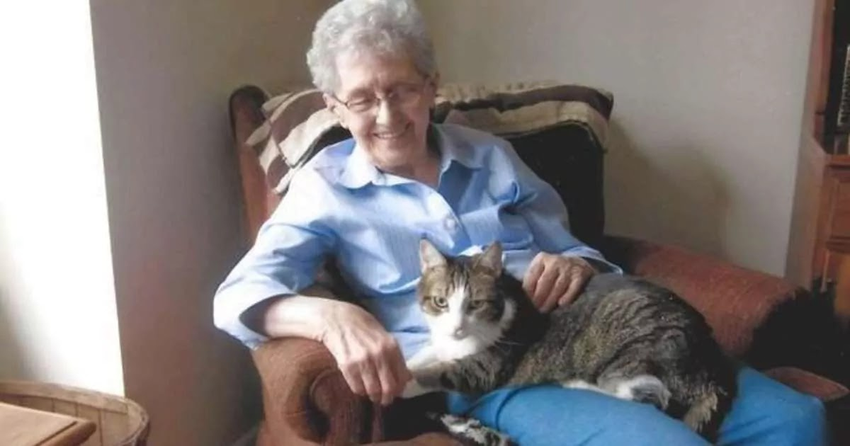 This Grandma And Her Cat Were So Inseparable That They Died Within 4 Hours Of Each Other