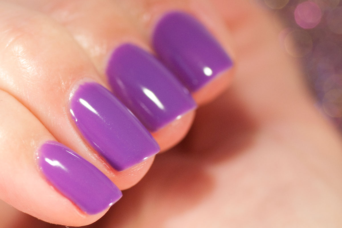 Pink Gellac Exotic Chaos Collection - 328 Iris Purple