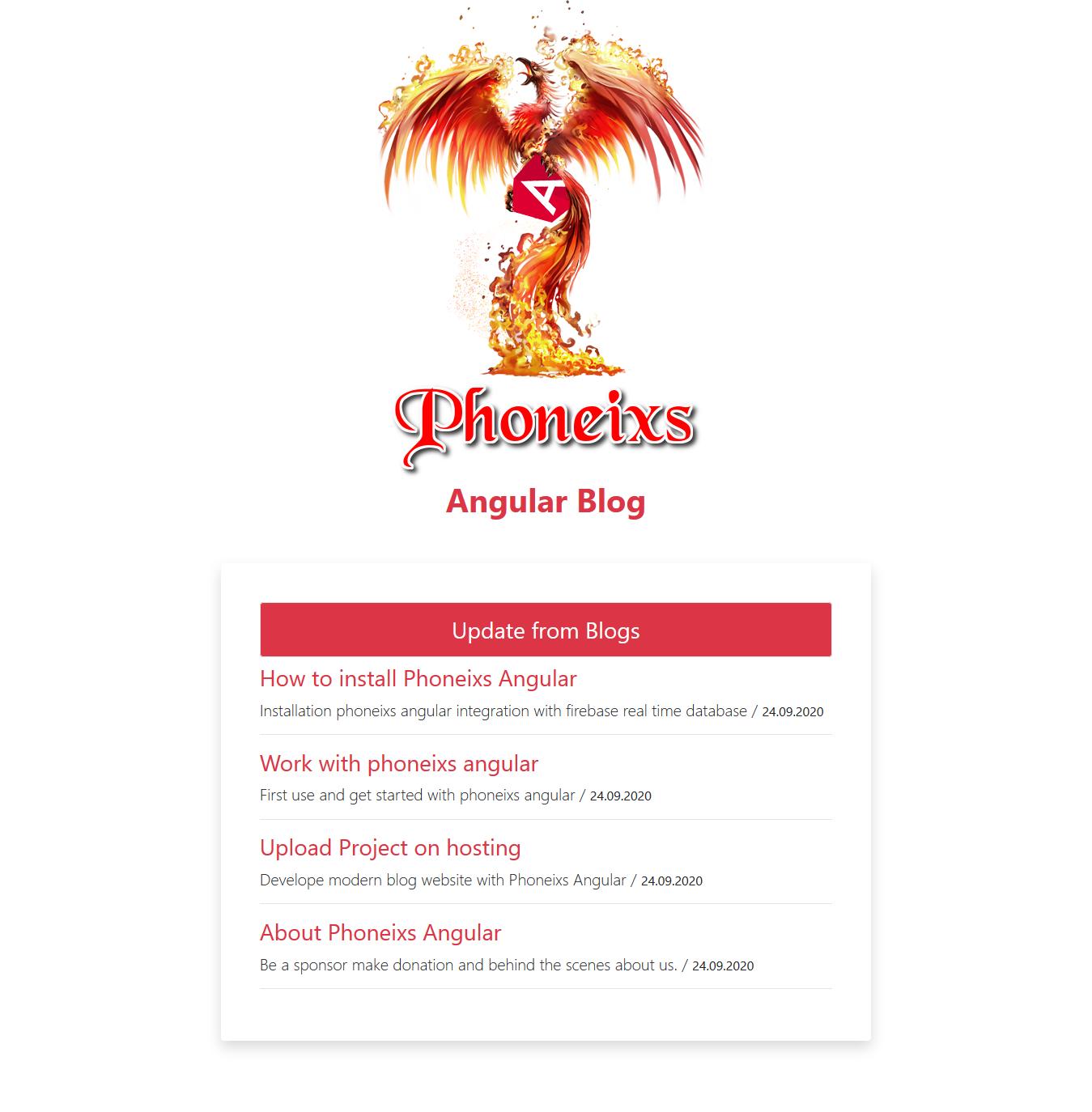 pembuatan website angular