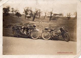 ABC flat twin and TT Triumph