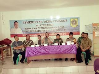 Desa Cimande, Pembangunan Desa Tertata dan Terencana Melalui Musrenbangdes
