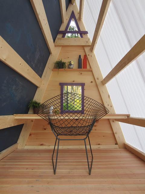 Tiny Home Designs: Woodwork A Frame Playhouse Plans PDF Plans