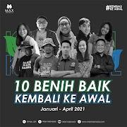 Kolaborasi Rumah Koran Bersama  10 Benih Baik di Max Indonesia