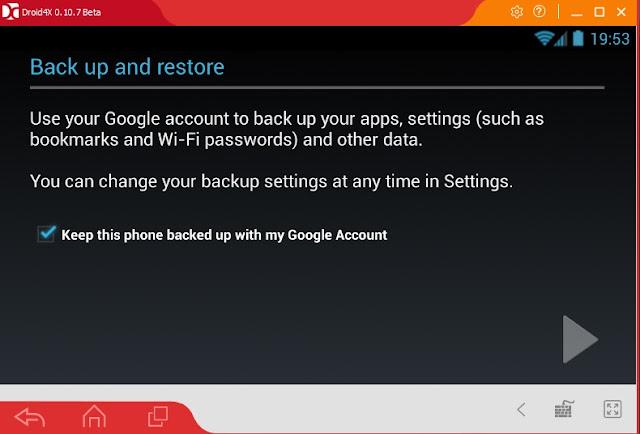Đăng nhập cửa hàng Ch Play - Google Play Store trên Droid4X d