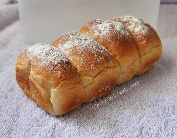 I Love I Cook I Bake Whole Wheat Honey Buns