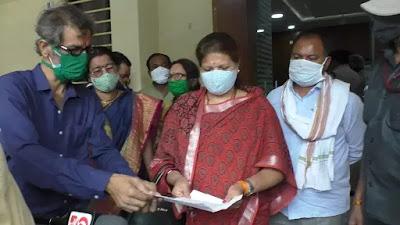 Nainpur news : एक सप्ताह में हो जायेगे जरूरी उपकरण  उपलब्ध : केबिनेट मंत्री मीना सिंह