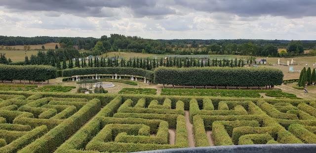 Ogrody Hortulus Spectabilis, labirynt z wieży widokowej, Dobrzyca